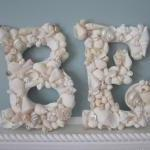 Beach Decor Seashell Letter..