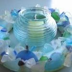 Beach Decor Sea Glass Wreat..